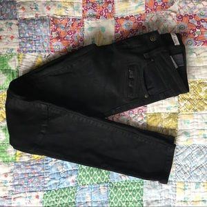 eunina low rise black skinny jeans!